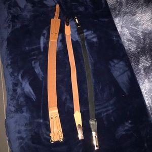 3 stretchy belts